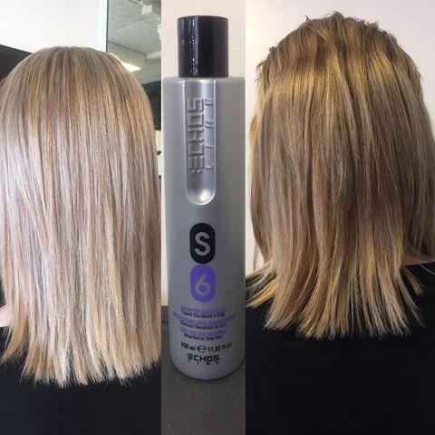 silver shampoo til brunt hår